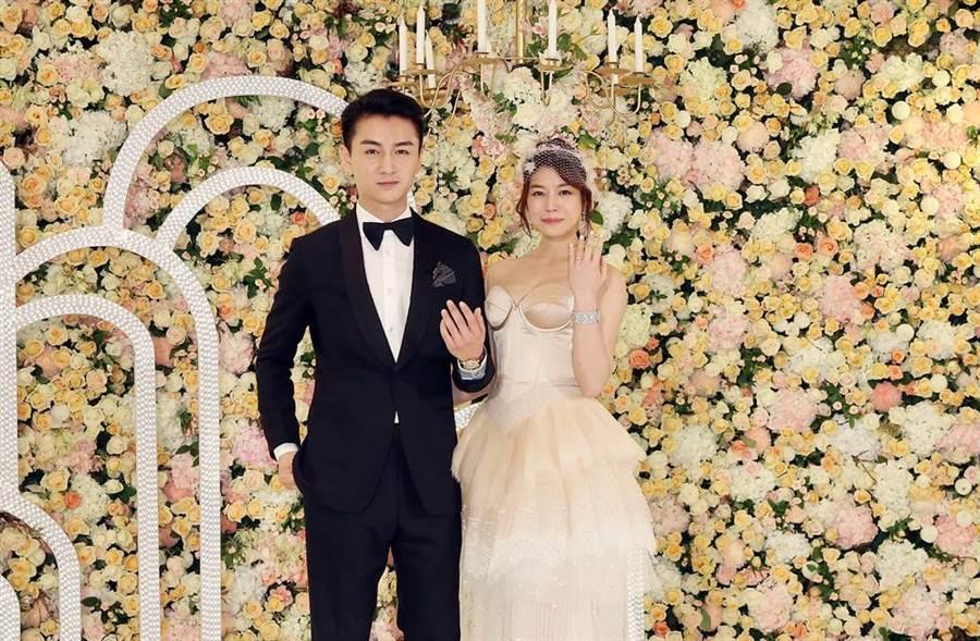 陳妍希、陳曉大方放閃,讓婚變傳聞不攻自破。(圖/本報系資料照片)