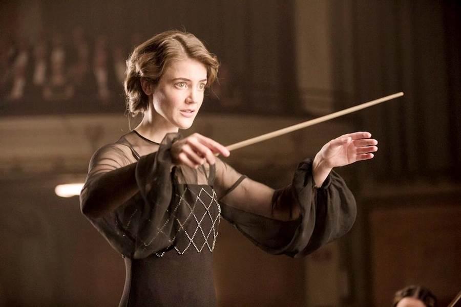 《首席指揮家》由克莉斯汀德布恩飾演女主角。(海鵬提供)
