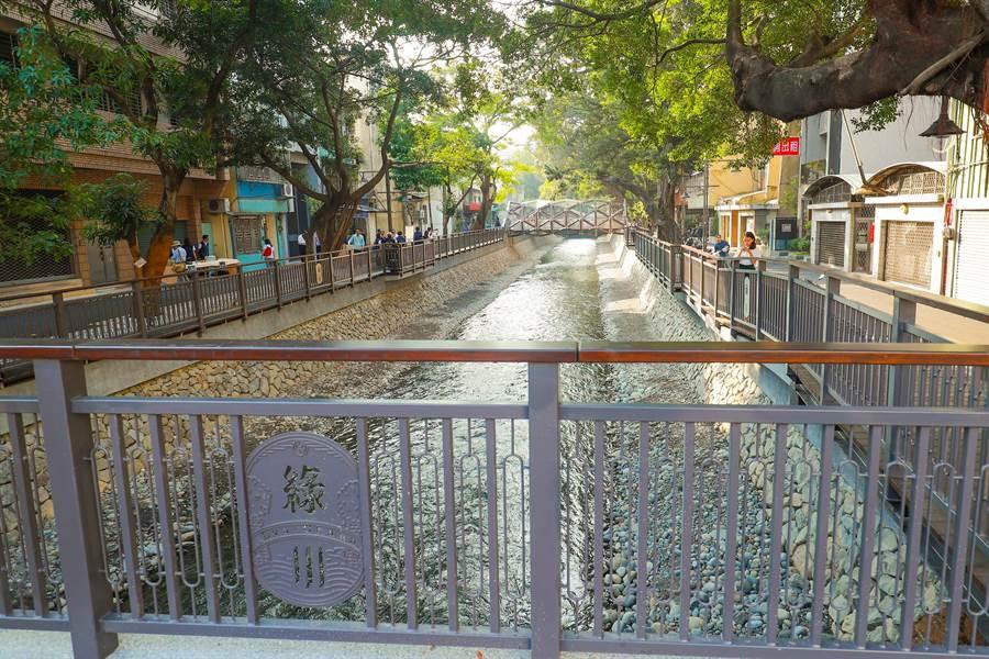 台中市府水利局表示,今年防汛期後,將在中區綠柳川舉辦大型展演活動。(盧金足攝)