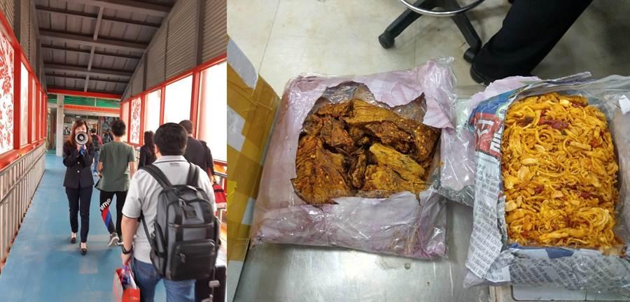 農委會防檢局強調,自大陸攜帶豬肉製品入境將遭重罰(示意圖)。(資料照/農委會提供)