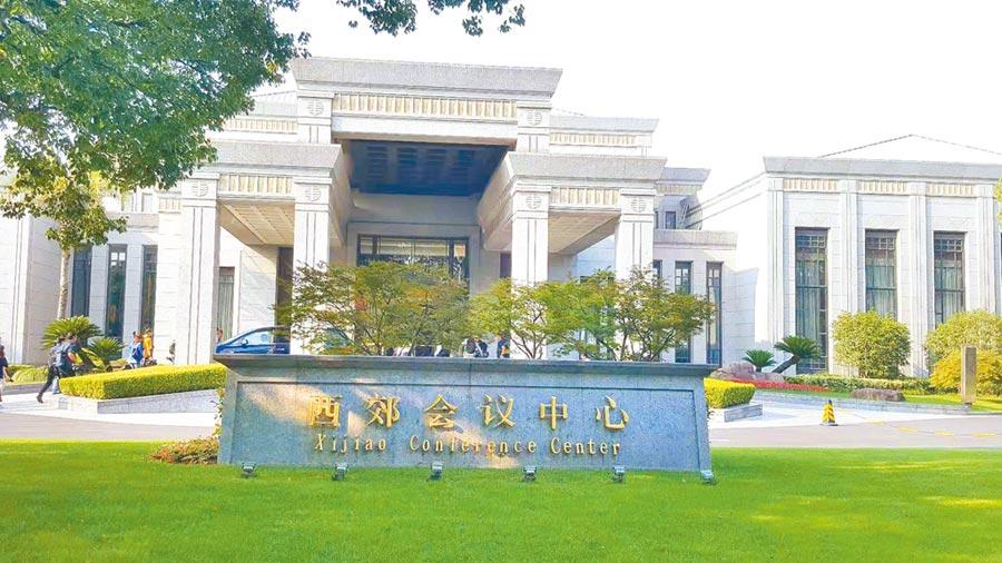 上海西郊賓館。(記者葉文義攝)
