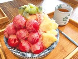 堆滿新鮮水果 健康沒負擔