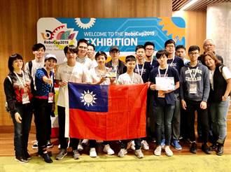 台灣小將澳洲參加2019世界機器人大賽 喜奪冠軍