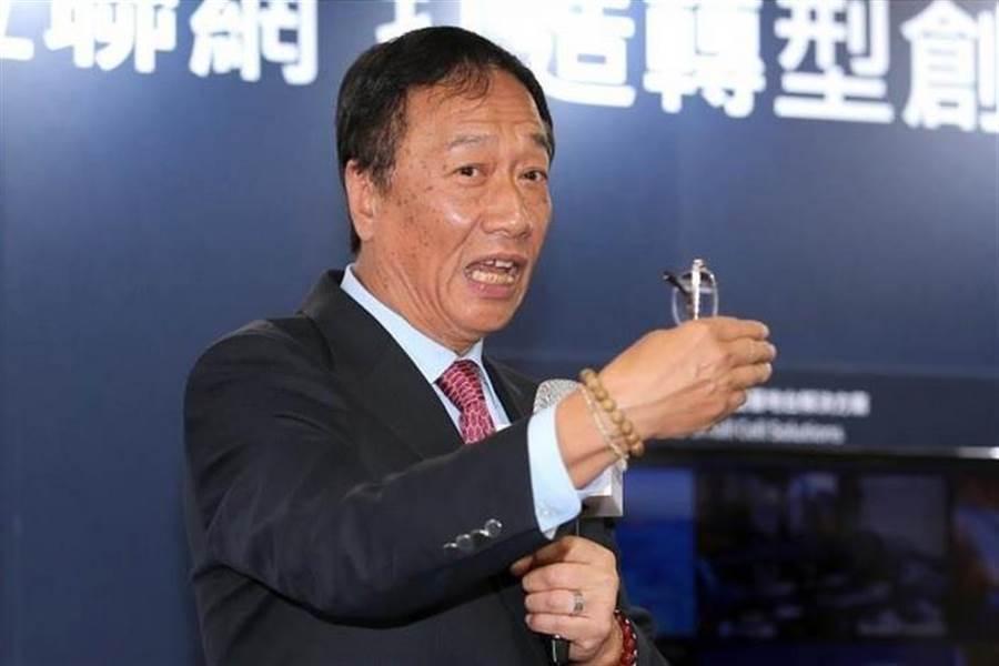 前鴻海董事長郭台銘。(本報系資料照片)