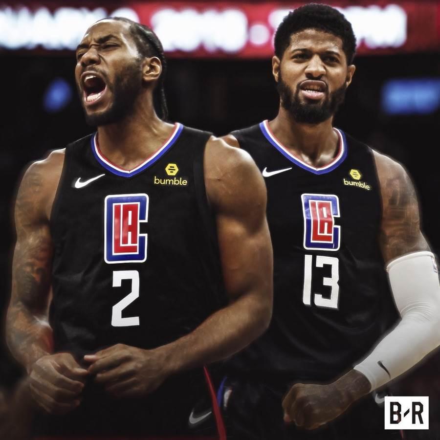 NBA專家佩爾頓針對西區球隊的補強動作進行評比,獲得里歐納德與保羅喬治的快艇得到A,湖人僅得到B。(看台報告官推/資料照)