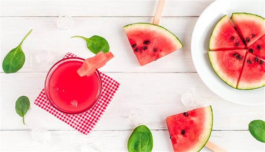 紅肉西瓜含有豐富的維生素A與茄紅素。(圖/康健雜誌)