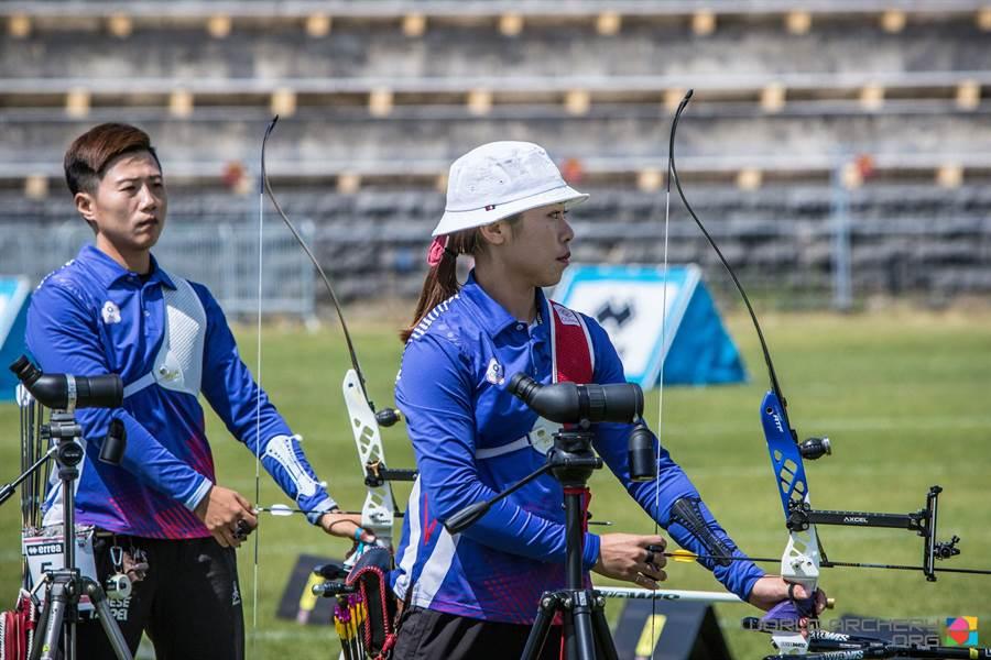 射箭中華女子反曲弓隊,在世界盃德國柏林站無緣獎牌。(取自World Archery官網)
