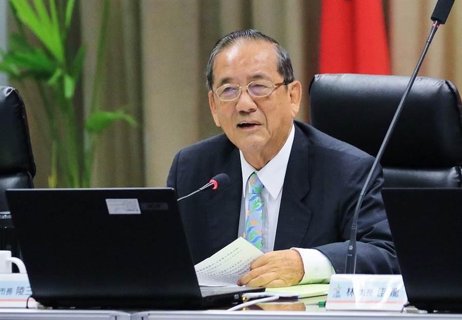 林陵三(見圖)曾出任台中副市長,今傳出他接掌中華顧問工程司董事長。(資料照片 陳世宗攝)