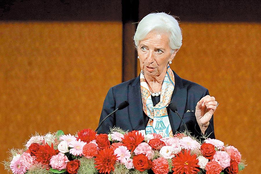 歐洲央行新任總裁人選拉加德。圖/路透