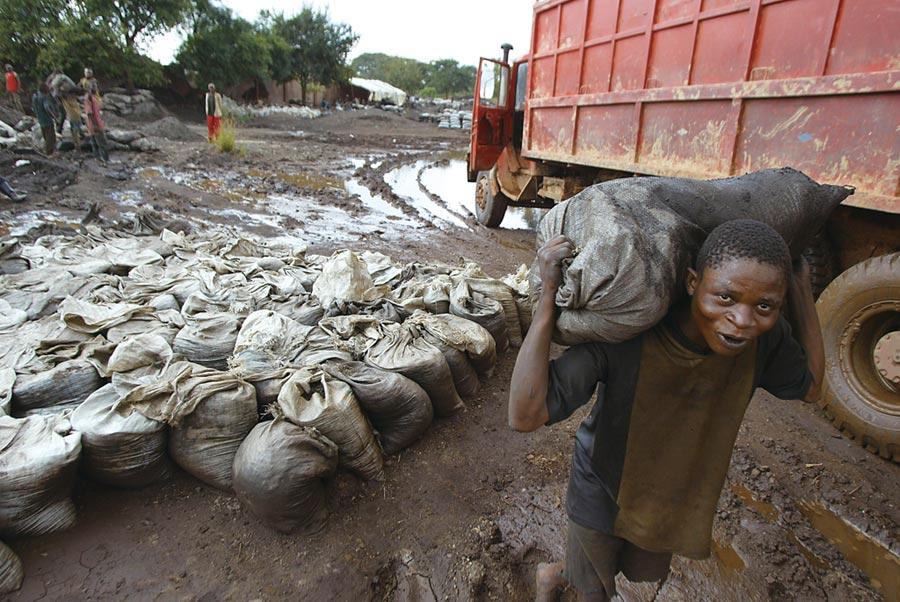 鈷價暴跌衝擊剛果        圖╱美聯社