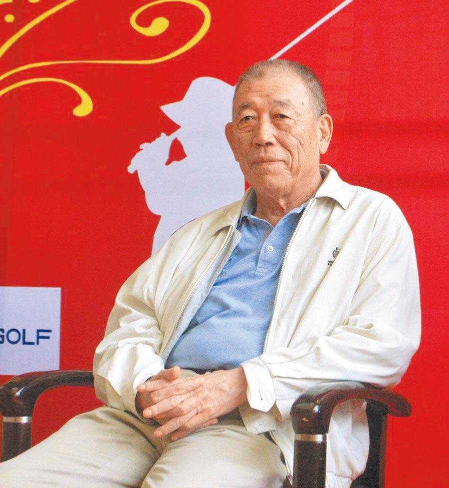 大陸中信集團前董事長王軍是大陸高爾夫重要推手。(廖國智提供)