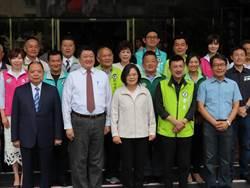 蔡英文拜訪新北市議會 成立戰鬥群組!