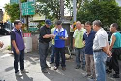 林明溱南投市會勘 改善市區淹水困境
