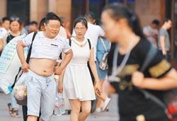 男性消暑 北京比基尼嚇傻國際