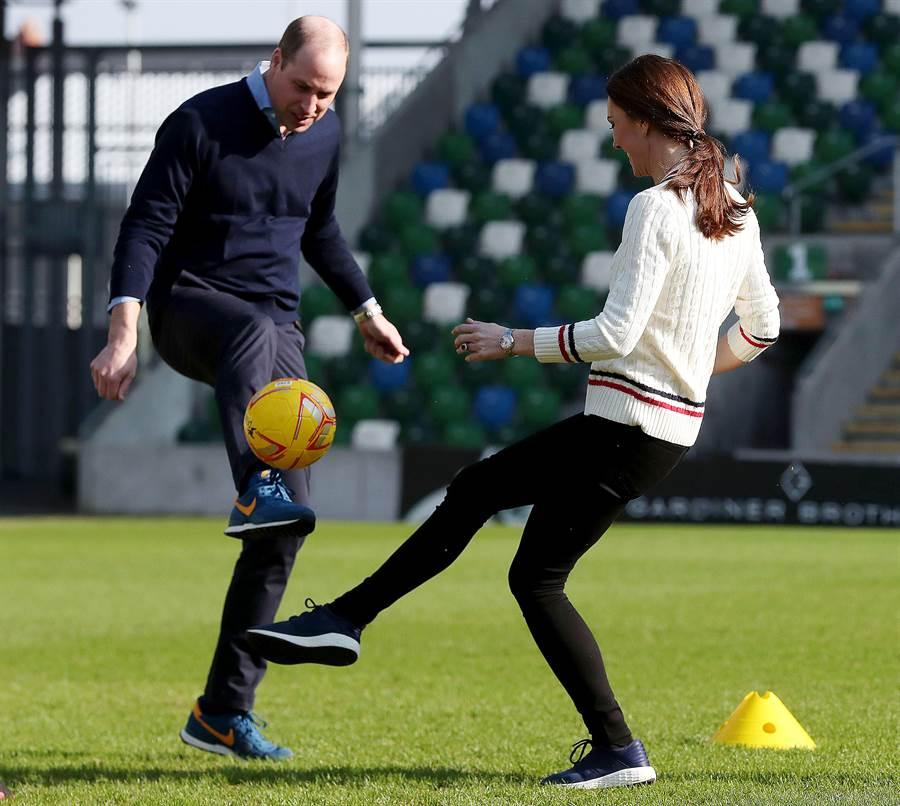 凱特熱衷於體育活動。(圖/達志影像)