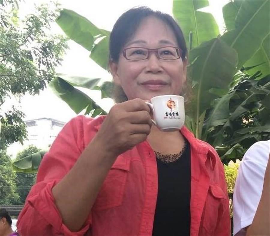 雲林縣副縣長謝淑亞是國民黨雲林山線立委第一也是唯一人選。(許素惠攝)