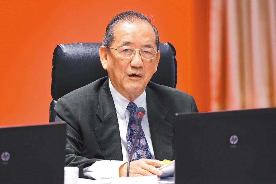 前交通部長林陵三接掌中華顧問工程司董座。(本報資料照片)