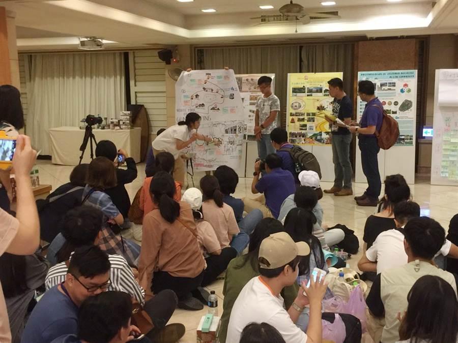 國際大專生洄游農村活動已連續3年舉行,國際生人數大幅成長。(陳淑芬翻攝)