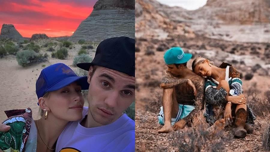 (圖/IG@ justinbieber、haileybieber)