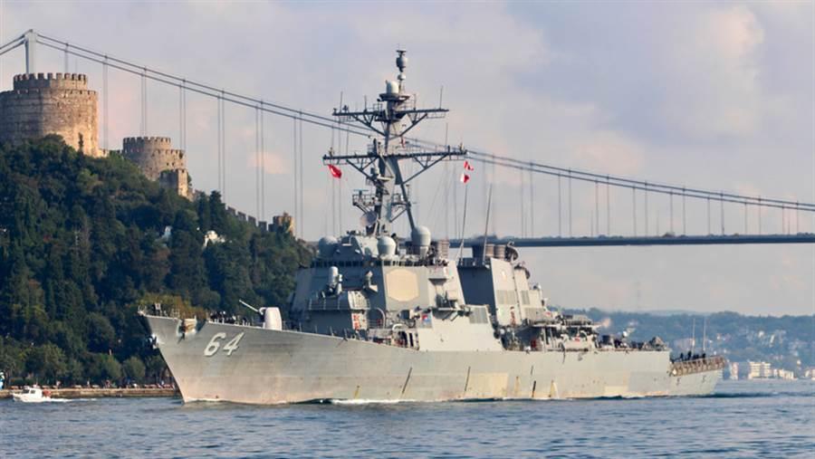 美國為烏克蘭修建2座接近克里米亞的港口,使北約可以更容易的介入黑海局勢。(圖/美國海軍)