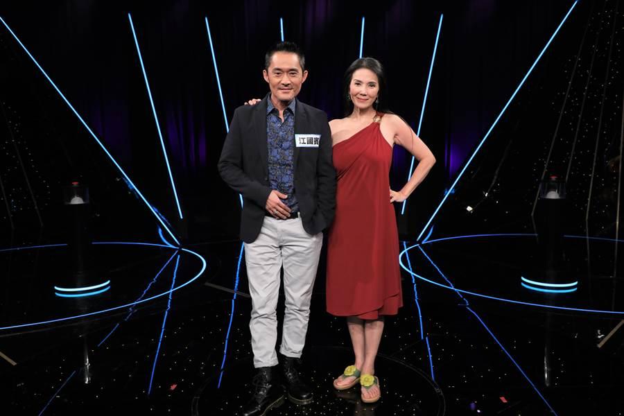 丁國琳(右)&江國賓(左)。(圖/台視17Q提供)