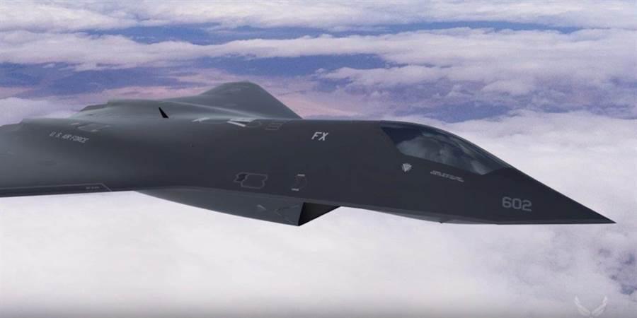 美國空軍實驗室進行的未來戰機計劃,正在積極開發相關技術以求突破5馬赫的速度極限。(圖/美國空軍實驗室)