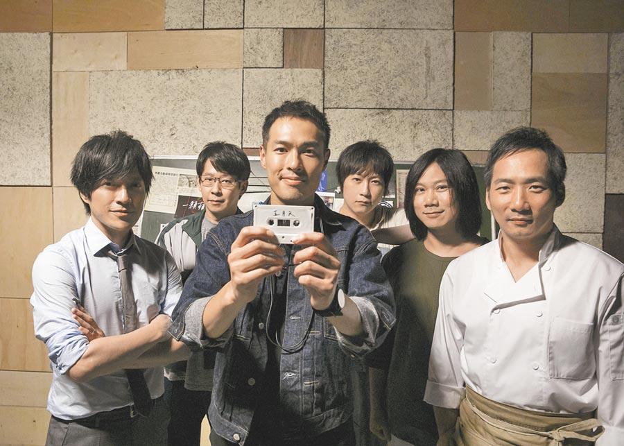 楊祐寧(左三)為拍五月天MV特別排出空檔。
