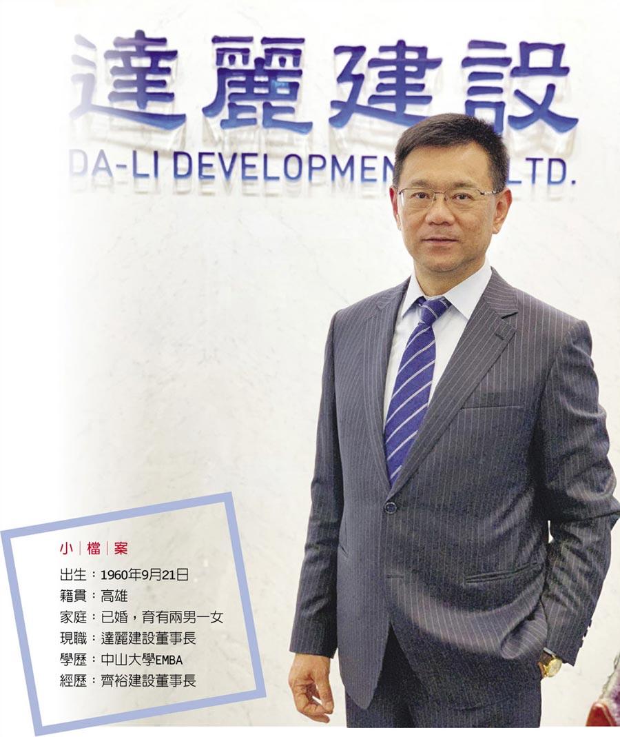 達麗建設董事長謝志長