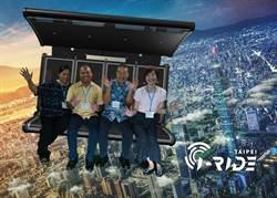 帛琉副總統夫婦搭乘智崴i-Ride 用飛行方式認識台灣