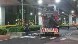 混擬土車擦撞單車 女騎士爆頭慘死