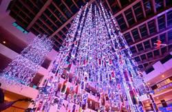 台灣燈會花燈「琉璃森林」 墾丁福華點燈