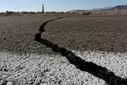 驚人!加州震出地表大裂縫 外太空都看得見