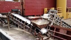 水管捲入輸送帶 台中港外籍船員手臂遭扯斷