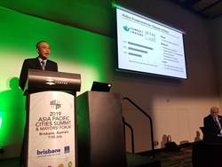 澳洲亞太城市高峰會 謝政達暢談新北食農政策