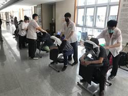 啟明視障生 進駐慈濟醫院免費按摩2天