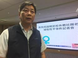 台南狼師傳猥褻訊息 教育局長震怒:通令全市不得聘用