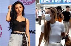 呼應「NO BRA」 23歲韓國女偶像激凸現身機場