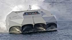 美國隱身快艇M80再次測試