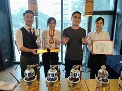 歐客佬包辦「世界盃虹吸咖啡大賽」台灣選拔賽亞、季與殿軍