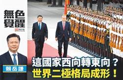 賴岳謙:這國家西向轉東向?世界二極格局成形!