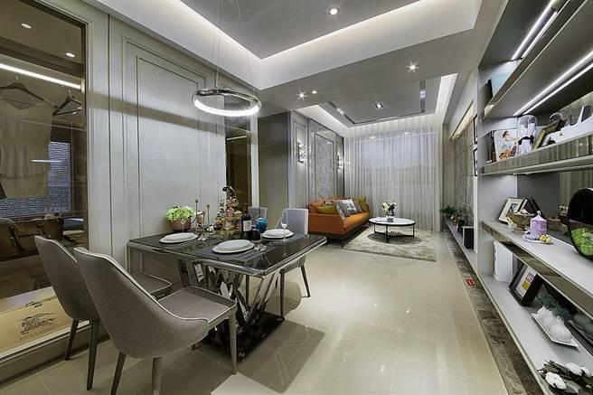 29坪2房規劃一樣擁有大坪數單純的居住環境。圖/業主提供。