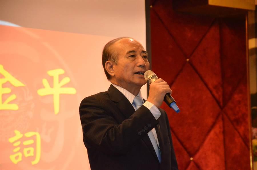 前立法院長王金平9日出席洪門108將金平之友會。(賴佑維)
