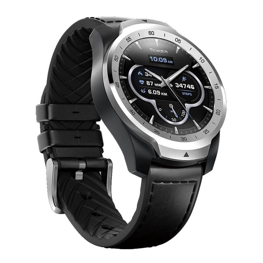 新光三越TicWatch PRO旗艦級智慧手表(新色),7790元。(新光三越提供)
