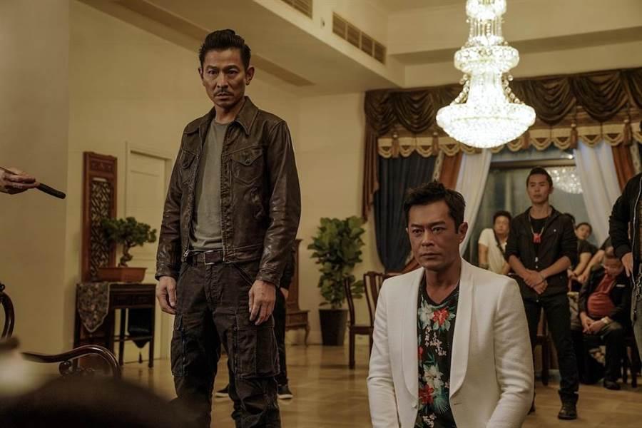 劉德華和古天樂在《掃毒2 天地對決》針鋒相對。(華映提供)
