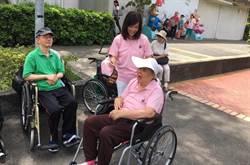 狄鶯15個月後首露面   士林官邸推輪椅做公益