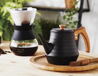 大古鐵器鑄鐵手沖咖啡壺 輕量化上市