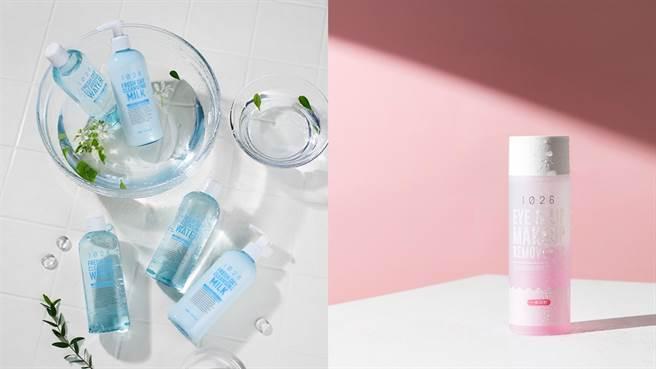 左圖:淨嫩肌深層卸妝水清爽型、淨嫩肌深層保濕卸妝乳,右圖:pH7.5深層清潔眼唇卸妝液EX版。(圖/品牌提供)