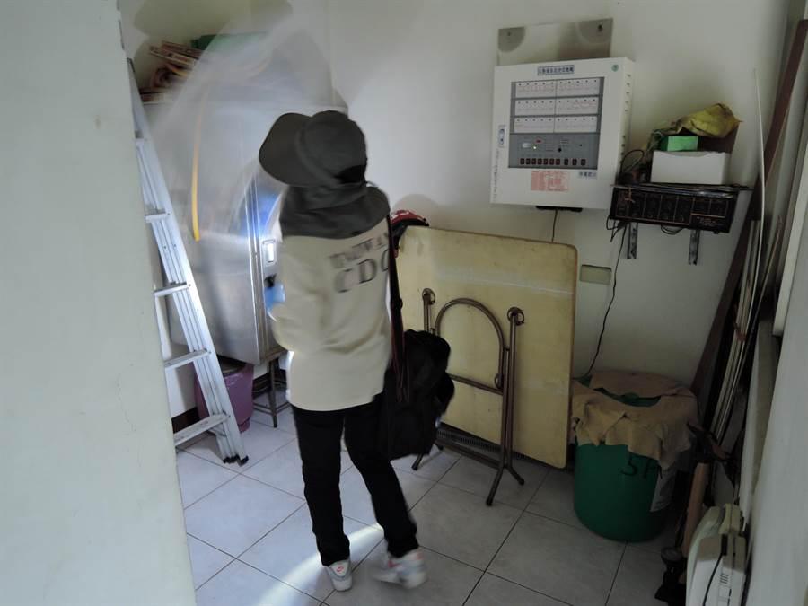 台南10日新增2起本土登革熱病例。(曹婷婷攝)