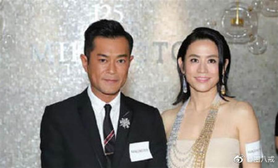 古天樂和宣萱的婚訊是假的。(圖/微博)