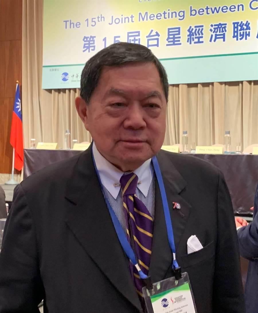 遠東集團董事長徐旭東今(10)日出席第15屆台星經濟聯席會議。